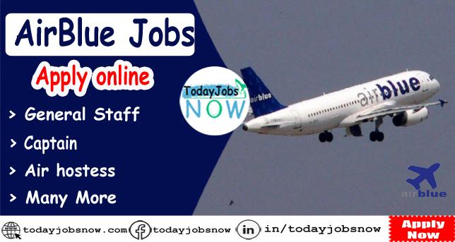 Air blue jobs
