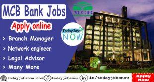 Mcb Bank Jobs