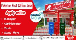 Pakistan Post office Jobs