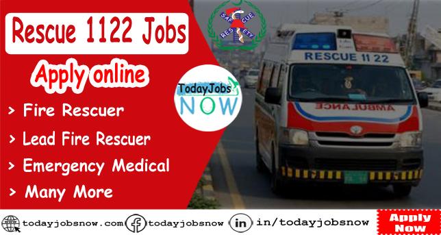 Rescue 1122 jobs