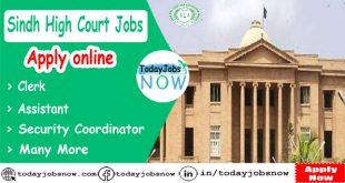 Sindh High Court Jobs