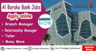 Al Baraka Bank jobs