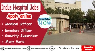 Indus Hospital Jobs