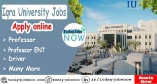 Iqra University Jobs
