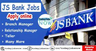 JS Bank Jobs