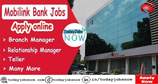 Mobilink Bank Jobs