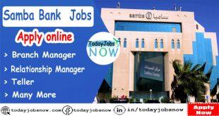 Samba Bank Jobs