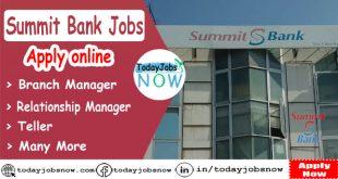 Summit Bank Jobs